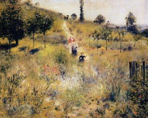 Pierre-Auguste Renoir - Path Leading through Tall Grass