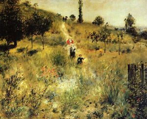 Pierre-Auguste Renoir - Path Winding through the High Grass