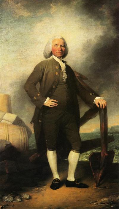 Patrick Tracy, Oil On Canvas by John Trumbull (1756-1843, United Kingdom)
