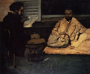 Paul Cezanne - Paul Alexis Reading to Zola
