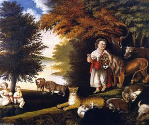 Edward Hicks - Peaceable Kingdom