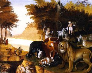 Edward Hicks - Peaceable Kingdom (15)