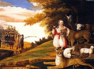 Edward Hicks - Peaceable Kingdom (18)
