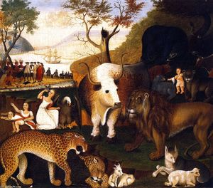 Edward Hicks - Peaceable Kingdom (19)