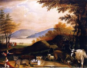Edward Hicks - Peaceable Kingdom (21)
