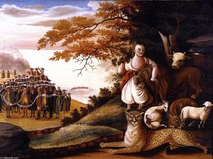 Edward Hicks - Peaceable Kingdom (26)