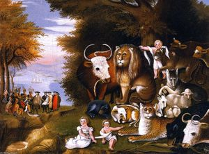 Edward Hicks - Peaceable Kingdom (28)