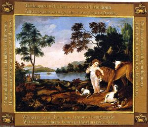 Edward Hicks - Peaceable Kingdom (43)