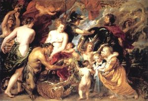 Peter Paul Rubens - Peace and War