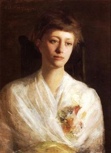 Abbott Handerson Thayer - Pensive Model