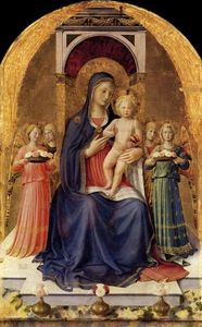 Fra Angelico - Perugia Altarpiece (central panel)