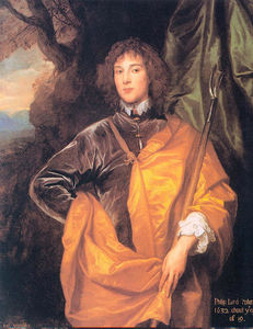 Anthony Van Dyck - Philip, Fourth Lord Wharton