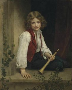 William Adolphe Bouguereau - Pifferaro