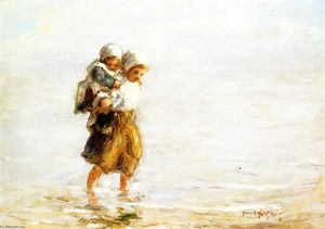 Robert Gemmell Hutchison - Piggy Back Ride