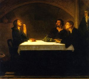 Henry Ossawa Tanner - The Pilgrims of Emmaus