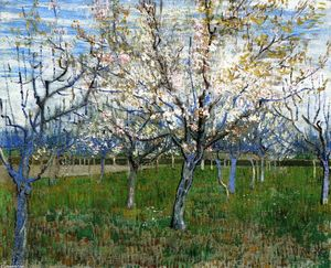 Vincent Van Gogh - The Pink Orchard