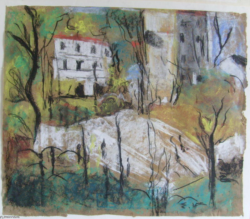 Edouard Vuillard Drawings Place Vintimille Also Known