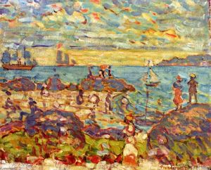 Maurice Brazil Prendergast - The Point, Gloucester