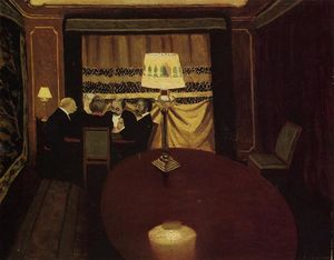 Felix Vallotton - The Poker Game