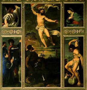Tiziano Vecellio (Titian) - Polyptych of the Resurrection