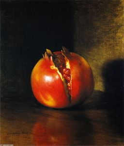 George Henry Hall - The Pomegranate