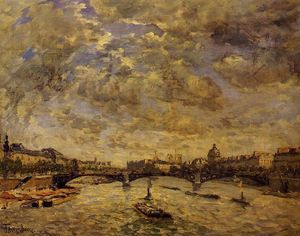 Frank Myers Boggs - The Pont Carousel, Paris