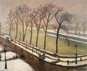 Albert Marquet - Pont-Neuf in the Snow