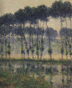 Gustave Loiseau - Poplars by the Eure River