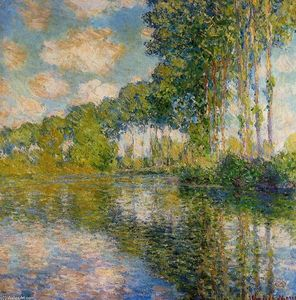 Claude Monet - Poplars on the Banks of the River Epte