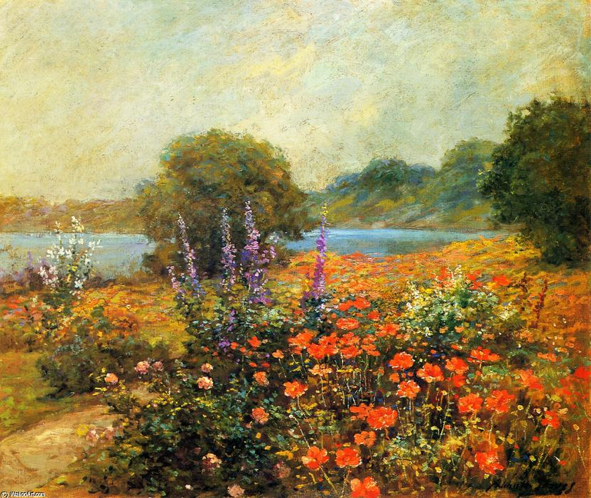 Order Museum Quality Reproductions : Poppies, 1905 by Abbott Fuller Graves (1859-1936, United States) | WahooArt.com
