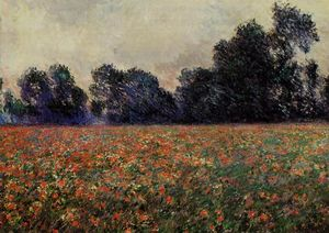 Claude Monet - Poppies at Giverny