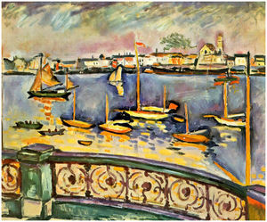 Georges Braque - Port of Antwerp