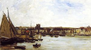 Charles François Daubigny - The Port of Dieppe