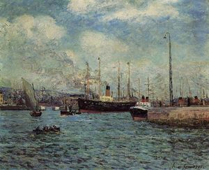 Maxime Emile Louis Maufra - The Port of Havre