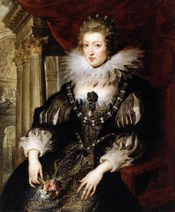 Peter Paul Rubens - Portrait of Anne of Austria