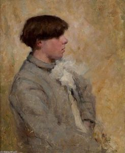 Robert Lewis Reid - Portrait of a Boy