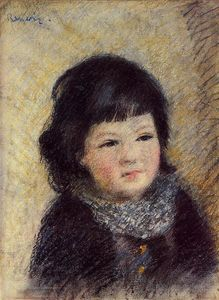 Pierre-Auguste Renoir - Portrait of a Child