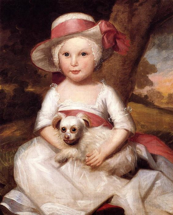 Portrait of a Child, 1778 by Ralph Earl (1751-1801, United States) | Oil Painting | WahooArt.com