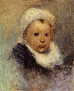 Paul Gauguin - Portrait of a Child (Aline Gauguin?)