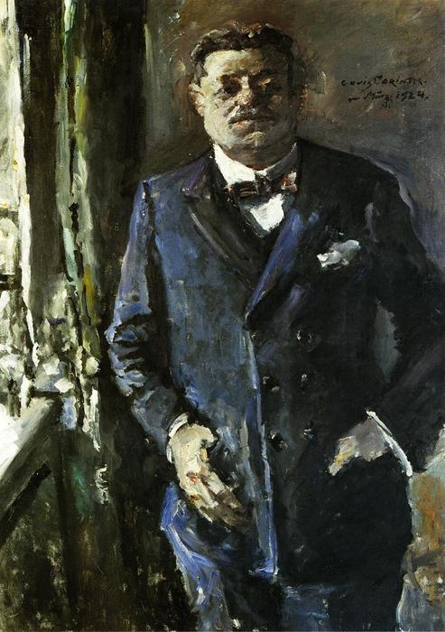 Portrait of Friedrich Ebert, Oil On Canvas by Lovis Corinth (Franz Heinrich Louis) (1858-1925, Netherlands)