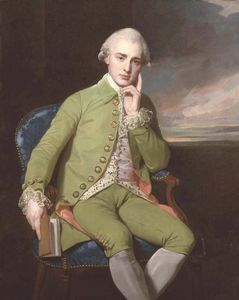 George Romney - Portrait of a Gentleman, said to be Earl Grey
