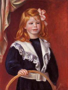 Pierre-Auguste Renoir - Portrait of Jean Renoir (also known as Child with a Hoop)