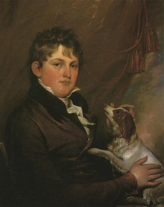 Portrait of John M. Trumbull, the Artist's Nephew, Oil On Canvas by John Trumbull (1756-1843, United States)