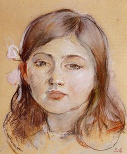 Berthe Morisot - Portrait of Julie