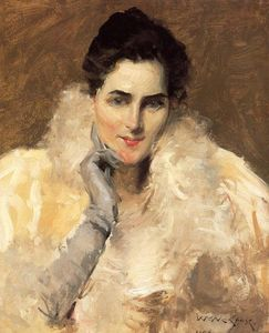 William Merritt Chase - Portrait of a Lady
