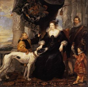 Peter Paul Rubens - Portrait of Lady Arundel with her Train
