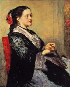 Mary Stevenson Cassatt - Portrait of a Lady of Seville