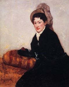 Mary Stevenson Cassatt - Portrait of Madame X Dressed for the Matinee
