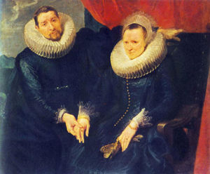 Anthony Van Dyck - Portrait of a Married Couple