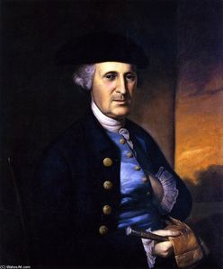 Charles Willson Peale - Portrait of a Maryland Gentleman